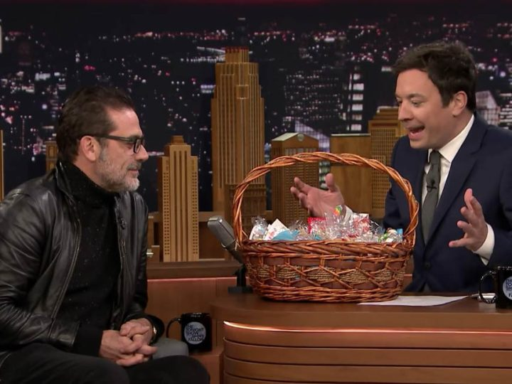 Jeffrey Dean Morgan Talks Samuel's With Jimmy Fallon